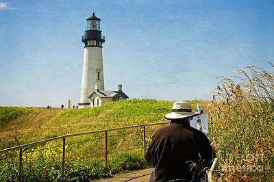 Photograph - The Lighthouse by Craig Leaper