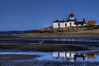 Ocean Photograph - The Lighthouse by David Patterson