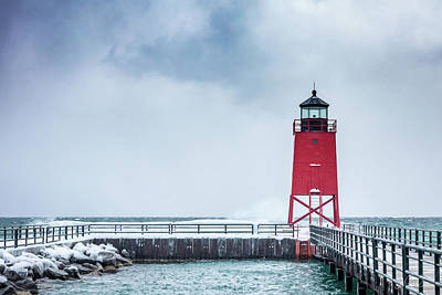 Photograph - The Lighthouse by Framing Places