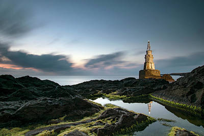 Photograph - The Lighthouse In Ahtopol by Plamen Petkov