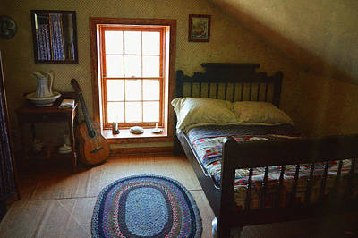 Photograph - The Lighthouse Keepers Bedroom - San Diego by Glenn McCarthy Art and Photography