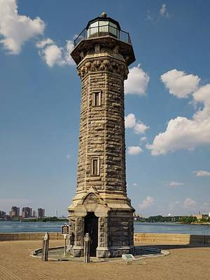 Photograph - The Lighthouse Roosevelt Island by Marianne Campolongo