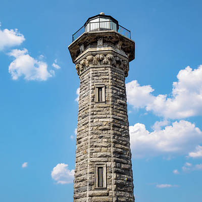 Photograph - The Lighthouse, Roosevelt Island, Nyc by Marianne Campolongo
