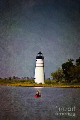 South Louisiana Photograph - The Lighthouse by Scott Pellegrin