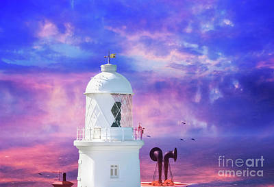 Photograph - The Lighthouse by Terri Waters