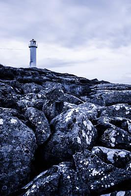 Sweden Digital Art - The Lighthouse by Tommytechno Sweden