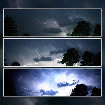 Photograph - The Lightning Story by Adam LeCroy
