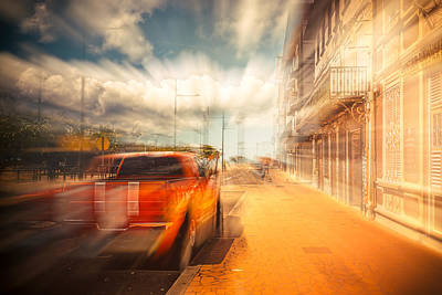 Photograph - The Lightspeed by Radek Spanninger