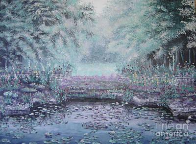The Lily Pond Art Print by Cynthia Sorensen