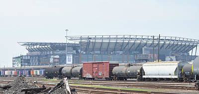 The Linc From The Other Side Of The Tracks Art Print by Bill Cannon