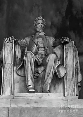 Photograph - The Lincoln Memorial  by Doc Braham