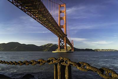 Riddler Photograph - The Link by Ian Riddler