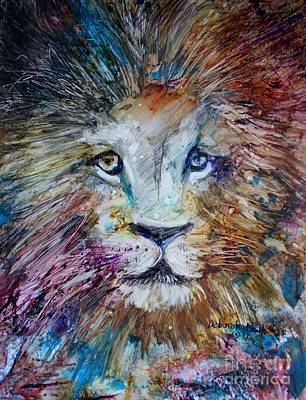 Painting - The Lion by Deborah Nell