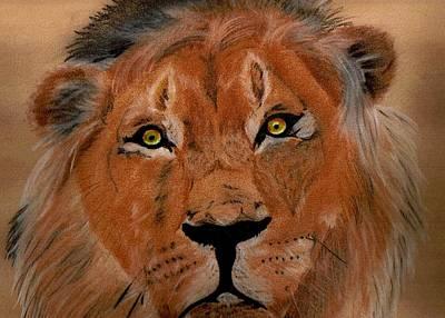 The Lion Within Art Print by ShadowWalker RavenEyes Dibler