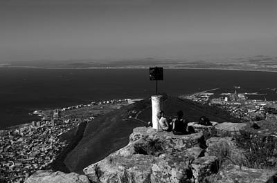 Photograph - The Lions Head View by Aidan Moran