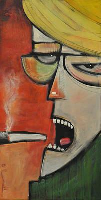 The Literary Critic Original by Tim Nyberg