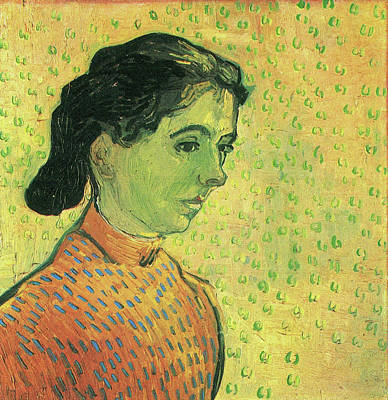 The Little Arlesienne, 1890 Art Print by Vincent Van Gogh
