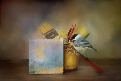 Painting - The Little Artist by Jai Johnson