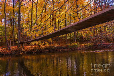 Photograph - The Little Bridge by Rima Biswas