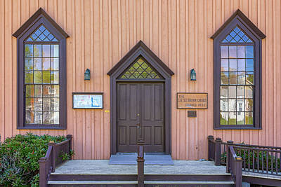 Photograph - The Little Brown Church by Rick Berk