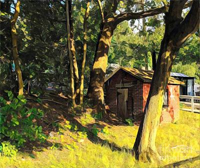 Photograph - The Little Cabin by Miriam Danar