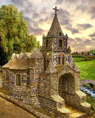 The Little Chapel Art Print by Ron Chambers