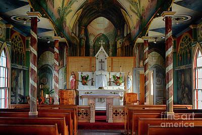 Photograph - The Painted Church Big Island Hawaii by Bob Christopher