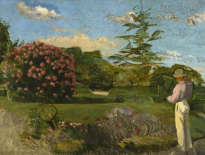 Painting - The Little Gardener by Frederic Bazille