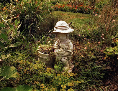Photograph - The Little Gardener by Jessica Jenney