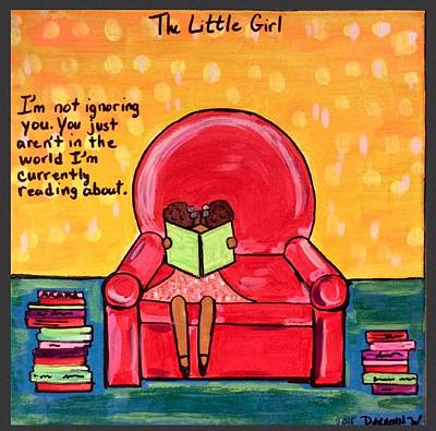 Photograph - The Little Girl  by Deedee Williams