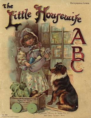 Painting - The Little Housewife Abc by Reynold Jay