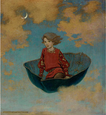 Good Housekeeping Painting - The Little Lame Prince by Jessie Wilcox Smith
