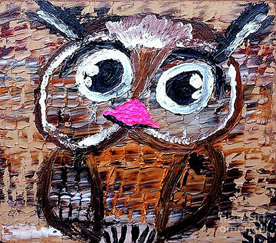 The Little Owl  Art Print