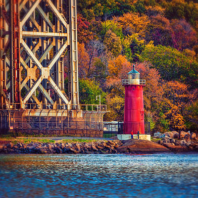 Photograph - The Little Red Lighthouse by Chris Lord