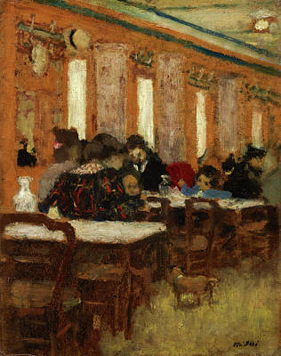 Eat Painting - The Little Restaurant by Edouard Vuillard