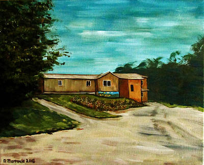 Painting - The Little River School by Denny Morreale