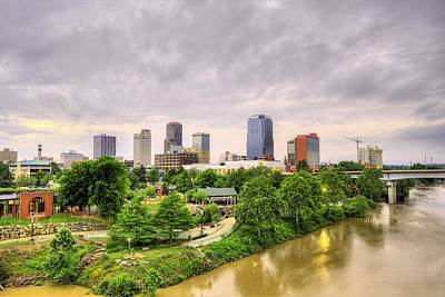 Photograph - The Little Rock Skyline by JC Findley