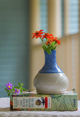 Photograph - The Little Vase by Cindy Hartman