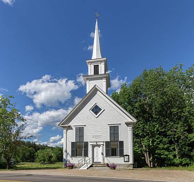 Photograph - The Little White Church by Brian MacLean
