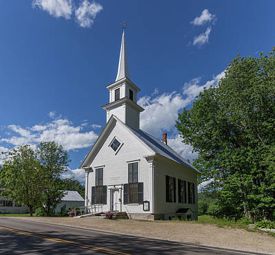 Photograph - The Little White Church Eaton New Hampshire by Brian MacLean