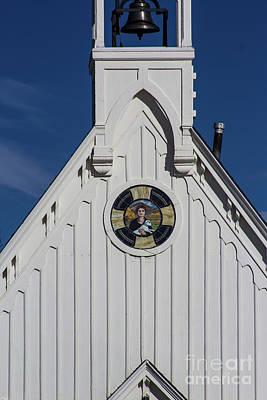 Photograph - The Little White Church by Steven Parker