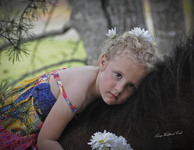 Best Friend Photograph - The Littlest Gypsy by Terry Kirkland Cook