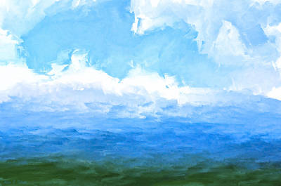 Painting - The Living Sea by Mark E Tisdale