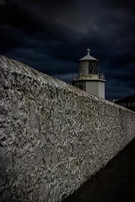 White Lighthouse.light Photograph - The Lizard Lighthouse by Martin Newman