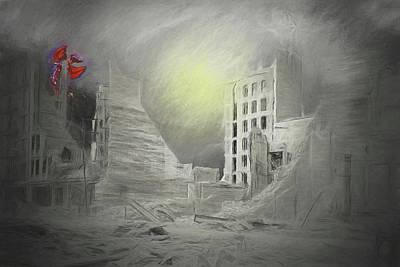 Digital Art - The Lizards Return by John Haldane
