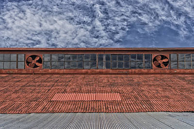 Photograph - The Loading Dock Roof Grafton Il Dsc05865 by Greg Kluempers