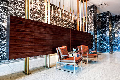 Photograph - The Lobby by Andy Crawford