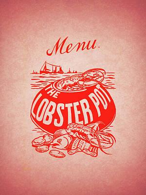 The Lobster Pot 1960s Art Print by Mark Rogan