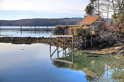 Photograph - The Lobster Shack by John Meader