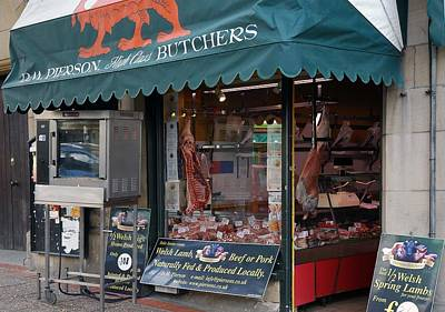 Photograph - The Local Butcher by Dianne Levy
